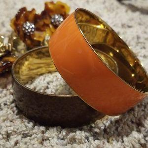 J Crew Chunky Enamel Bracelets
